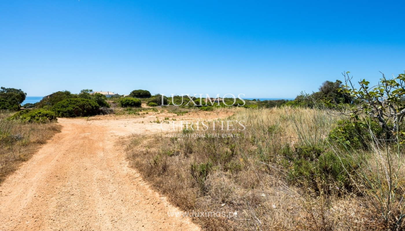 Plot area for sale for house construction, sea view, Algarve, Portugal_60835