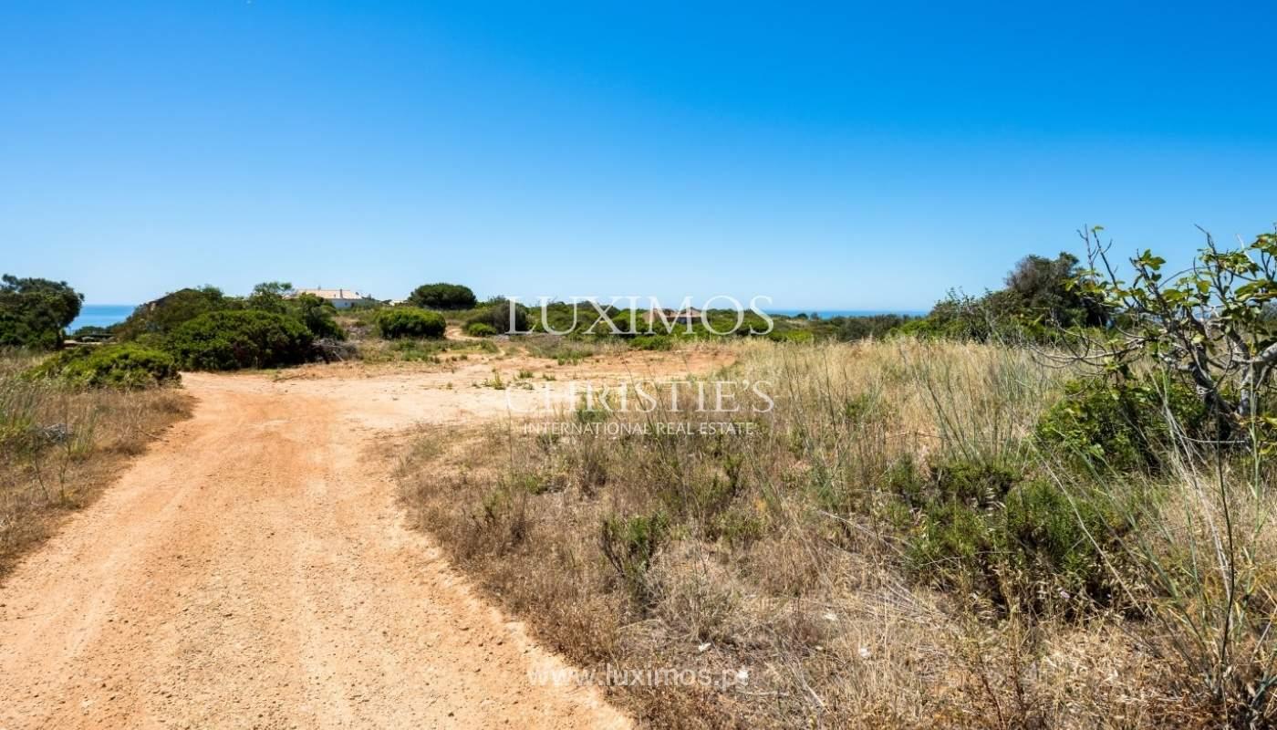 Verkauf von Grundstücken für den Bau des Hauses, das Meer, Lagos, Algarve, Portugal_60835
