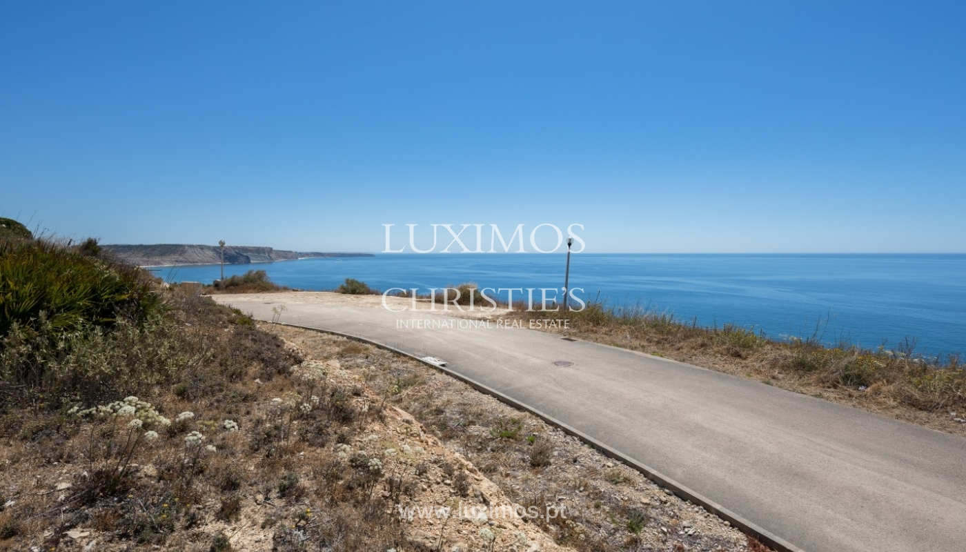 Plot area for sale for house construction, sea view, Algarve, Portugal_60857