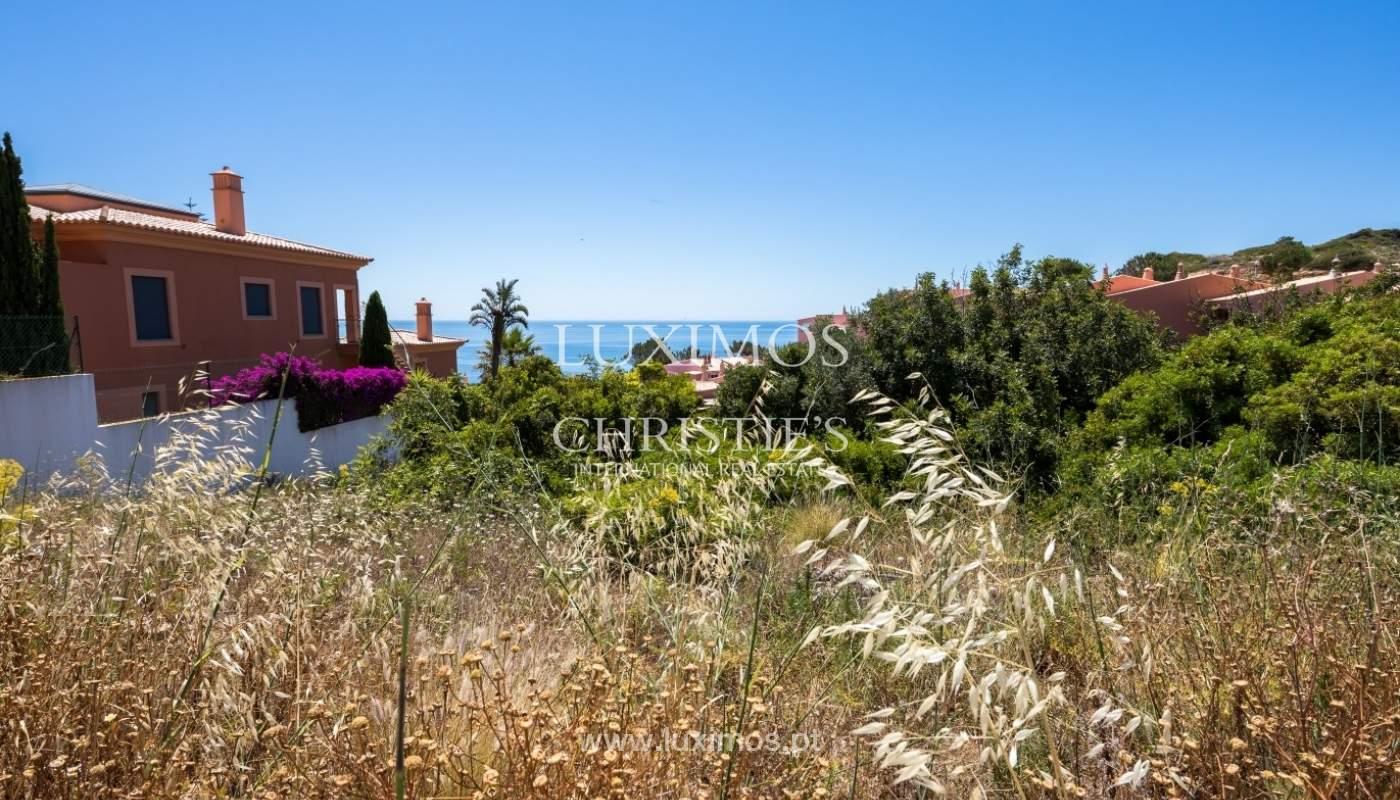 Plot area for sale for house construction, sea view, Algarve, Portugal_60873