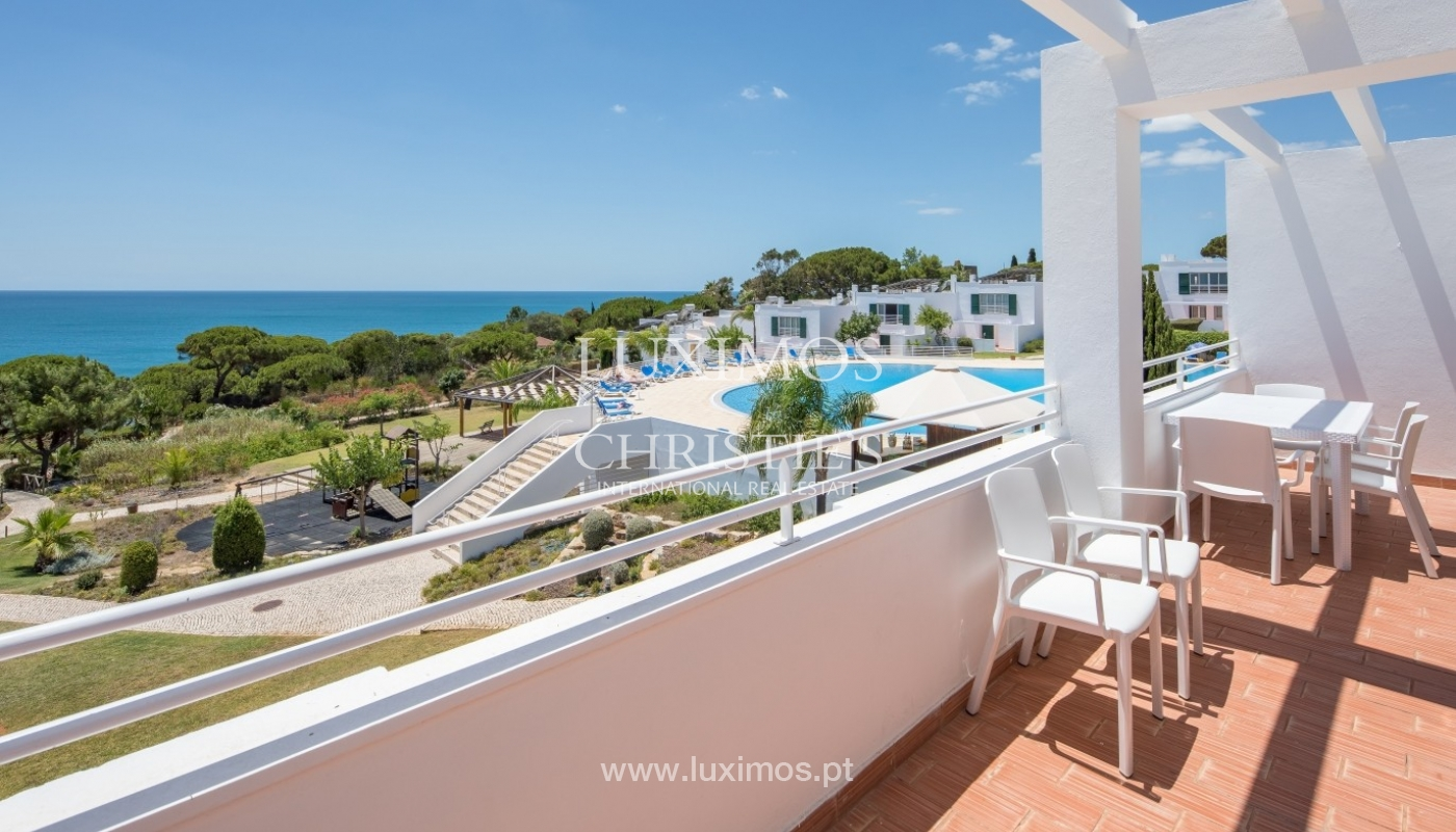 Sale of apartment with sea view in Albufeira, Algarve, Portugal_61835