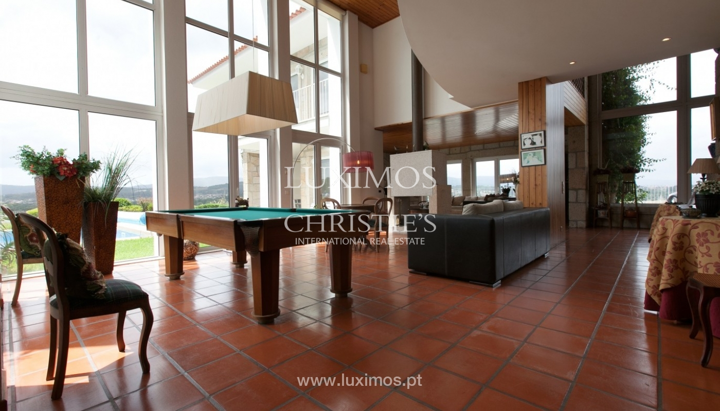Sale: house, as new, with garden and pool, V. N. Cerveira, Portugal_62903