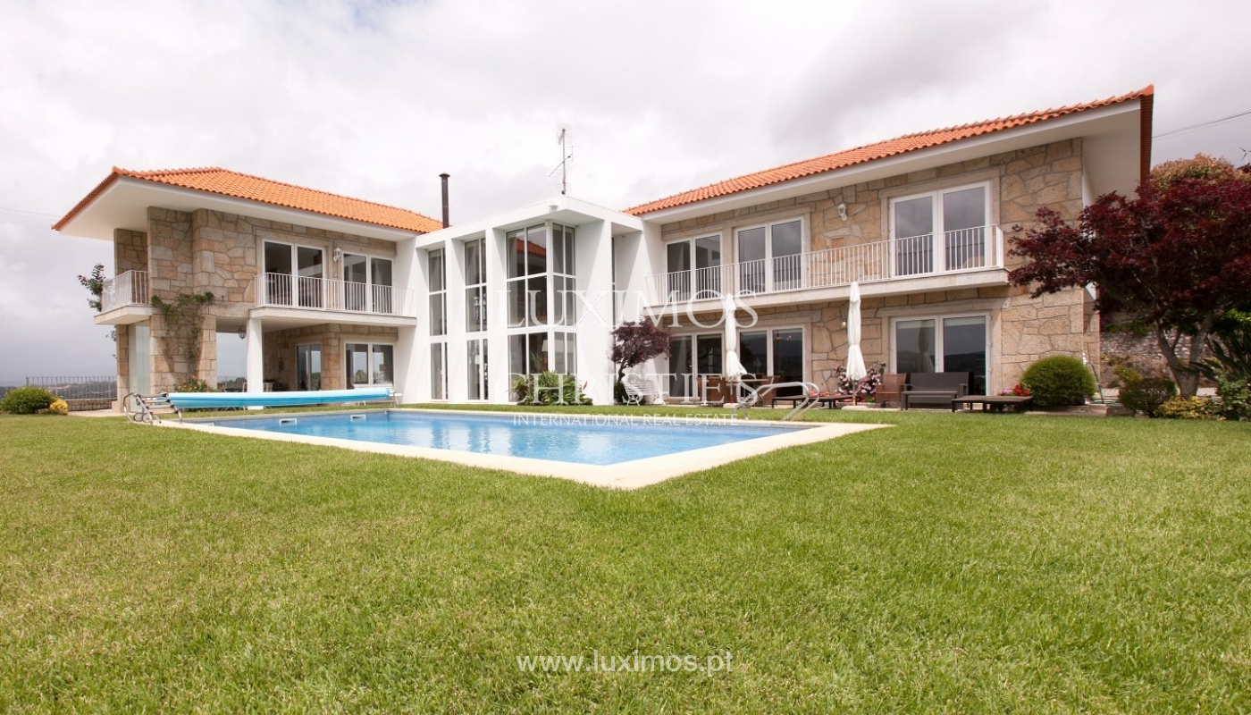 Sale: house, as new, with garden and pool, V. N. Cerveira, Portugal_62913