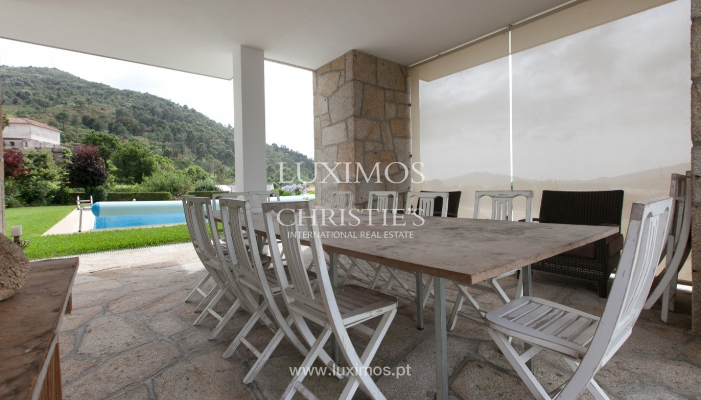 Sale: house, as new, with garden and pool, V. N. Cerveira, Portugal_62924