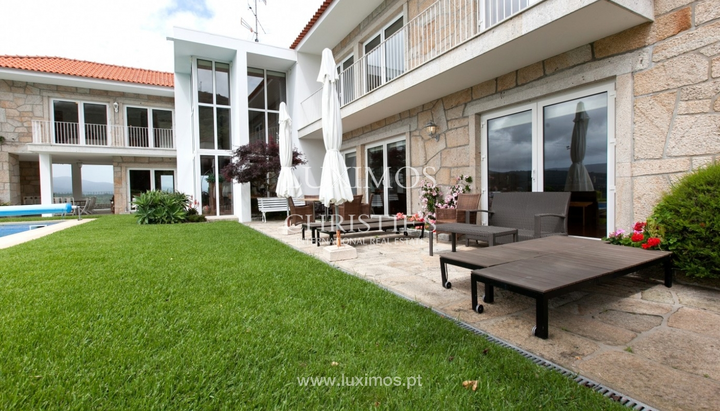 Sale: house, as new, with garden and pool, V. N. Cerveira, Portugal_62926