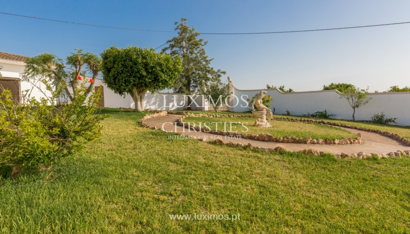 Traditional villa for sale, pool and garden, Silves, Algarve, Portugal_63031