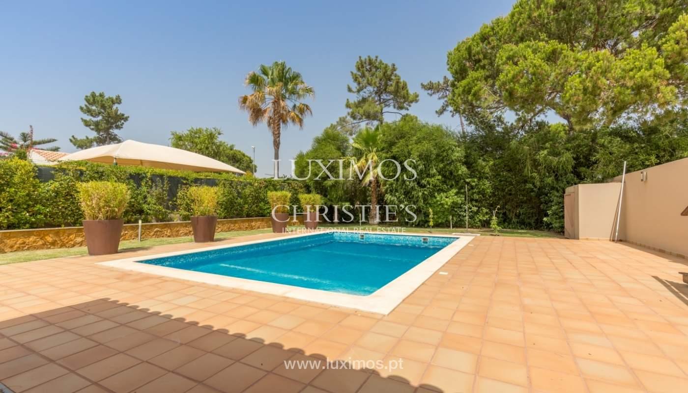 Vivienda en venta, piscina, playa y golf, Vilamoura, Algarve, Portugal_63843