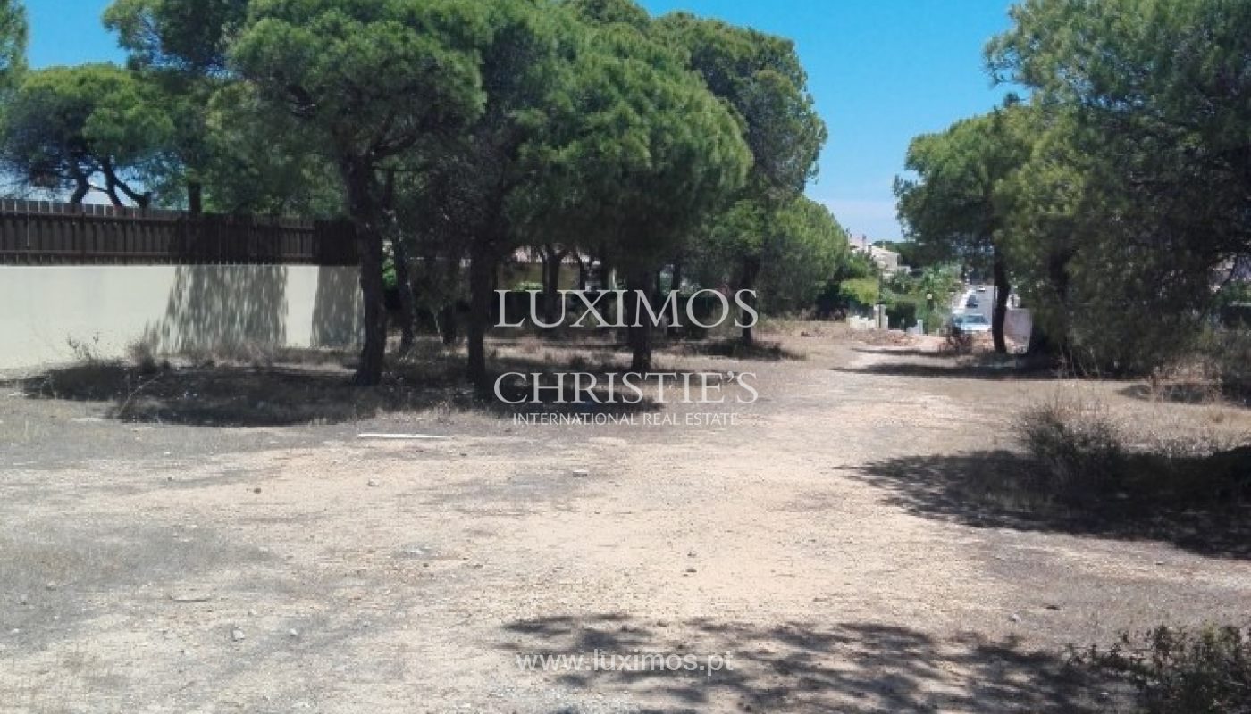 Plot area for sale near the sea and golf, Almancil, Algarve, Portugal_64114