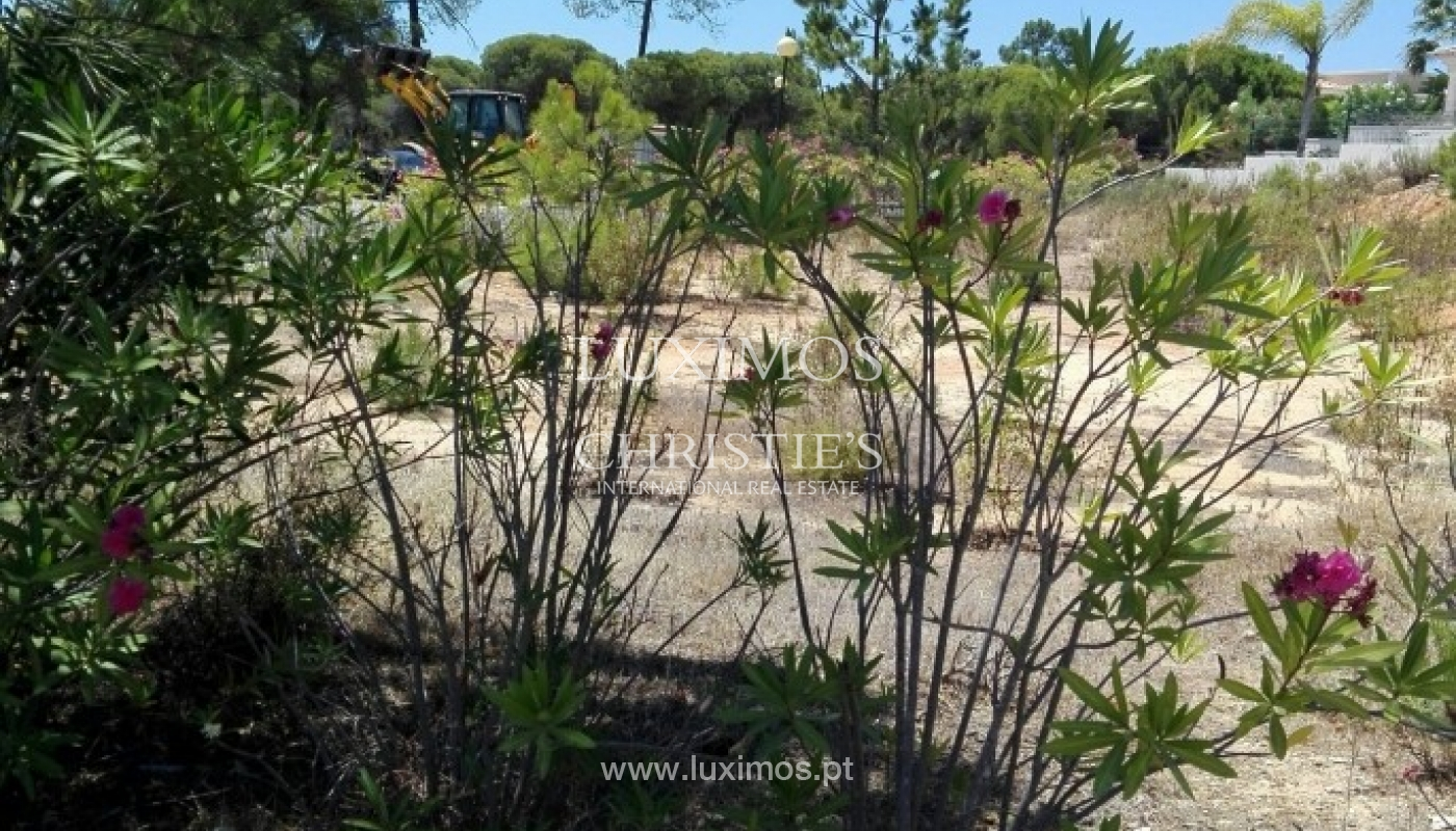 Plot area for sale near the sea and golf, Almancil, Algarve, Portugal_64134