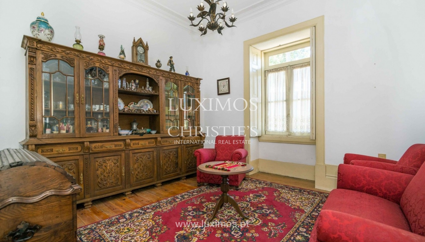 Sale of country house surrounded by garden, V. N. Famalicão, Portugal_64546