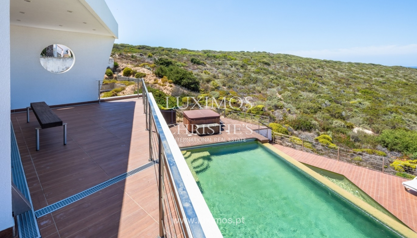Property for sale with pool, sea and river views, Algarve, Portugal_64746