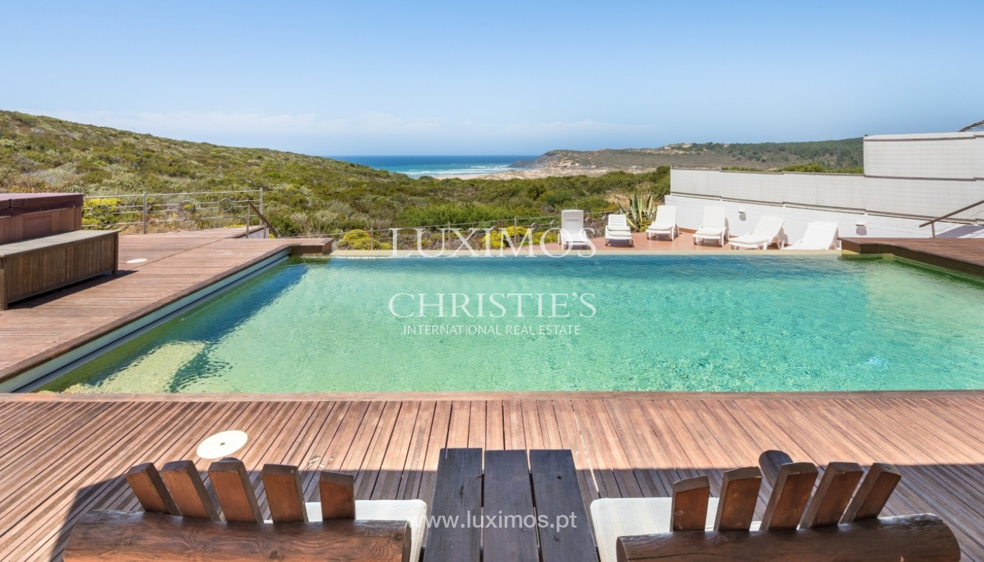 Property for sale with pool, sea and river views, Algarve, Portugal_64747