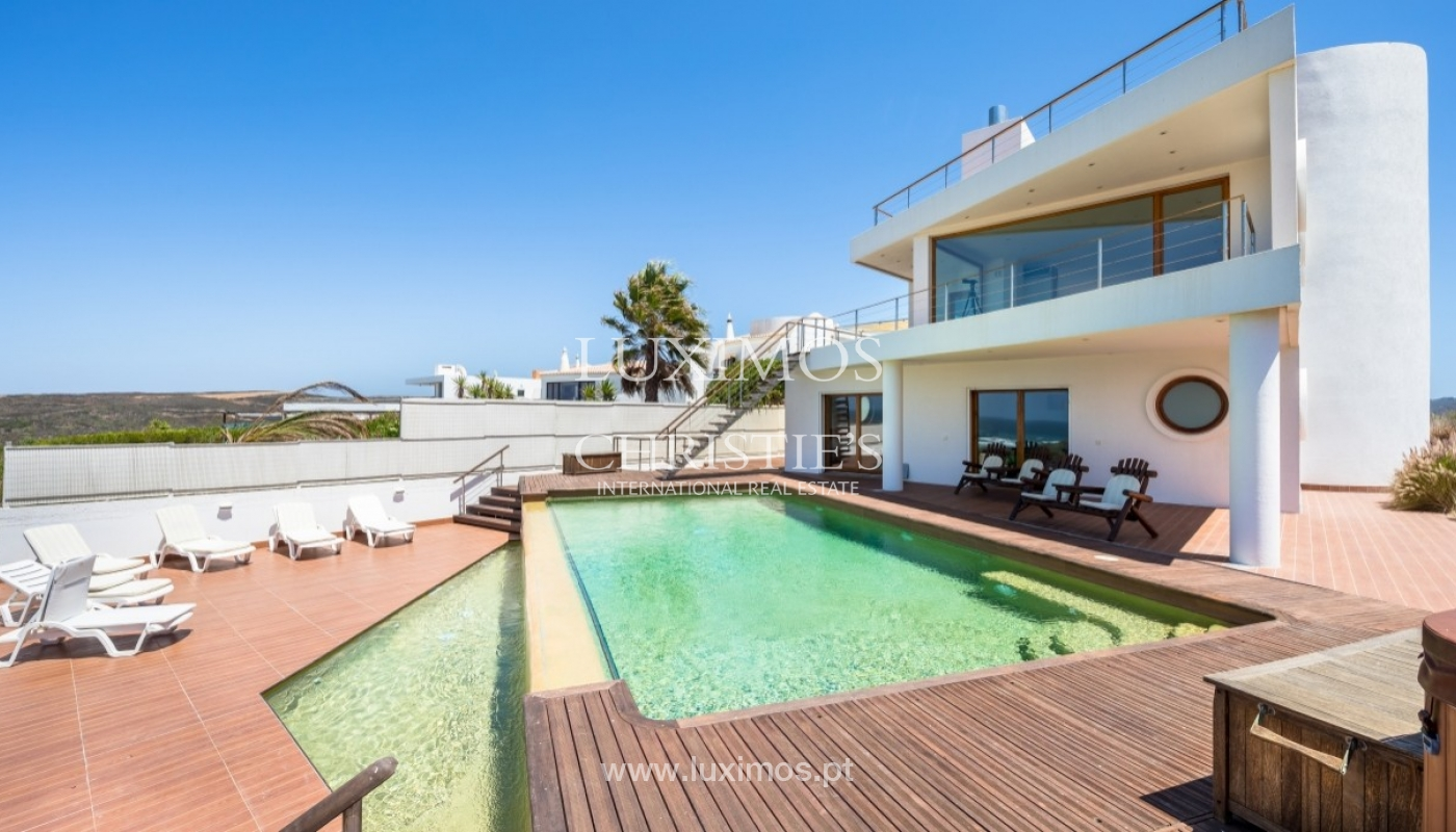 Property for sale with pool, sea and river views, Algarve, Portugal_64748