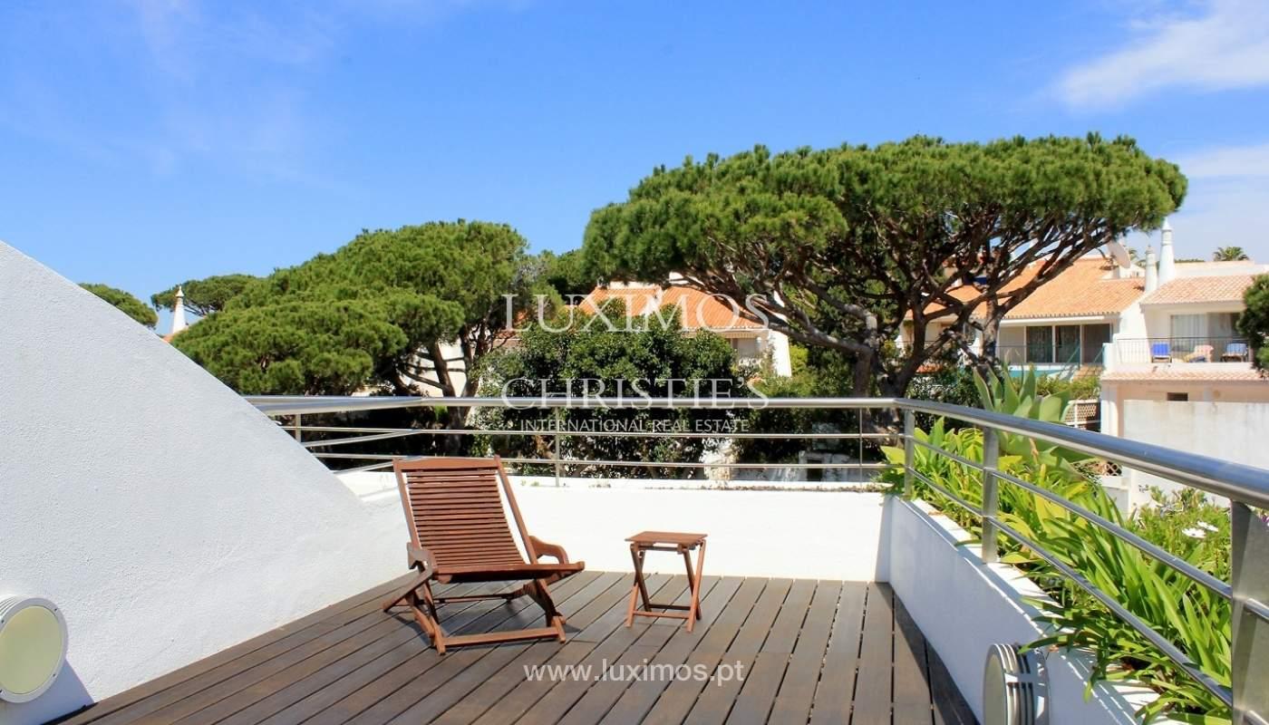 Apartamento à venda, com terraço, vista mar, Vale do Lobo, Algarve_65323