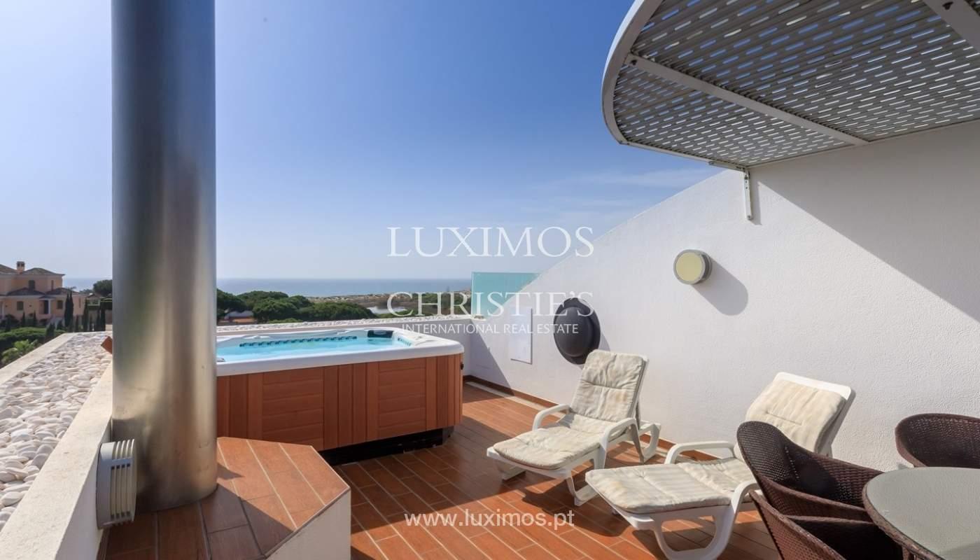 Apartment mit Meerblick, Terrasse und eine whirlpool-Badewanne, Vale do Lobo, Algarve, Portugal_65362