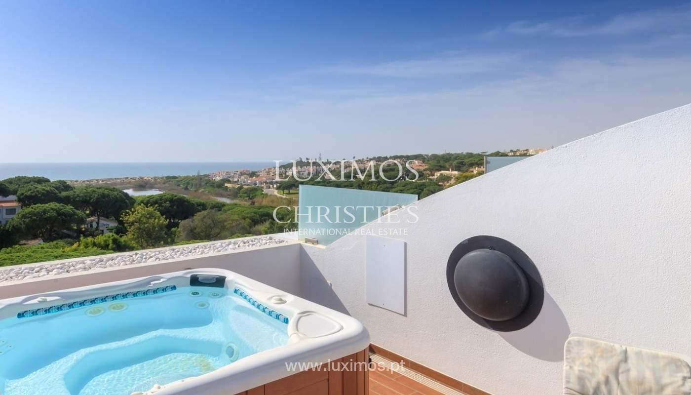 Apartment mit Meerblick, Terrasse und eine whirlpool-Badewanne, Vale do Lobo, Algarve, Portugal_65363