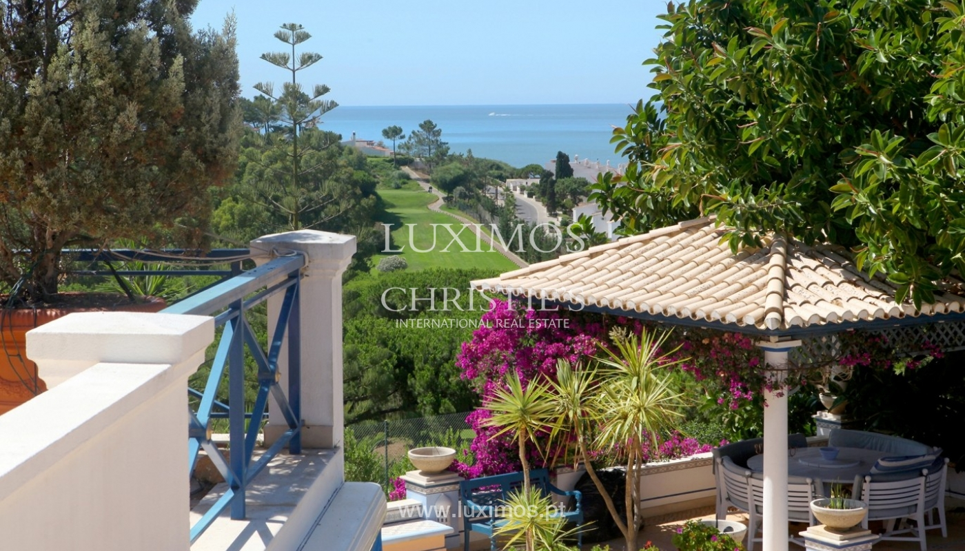 Vivienda en venta con vista mar y golf, Vale do Lobo, Algarve,Portugal_65994