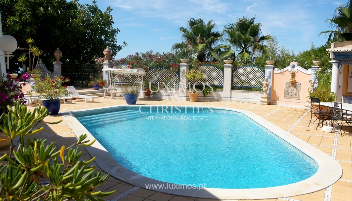 Villa for sale, sea and golf views, Vale do Lobo, Algarve, Portugal_65995