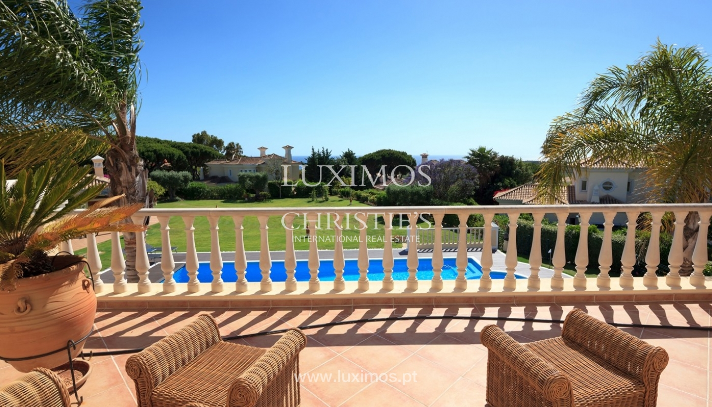 Luxury villa for sale with sea view, Vale do Lobo, Algarve, Portugal_66011
