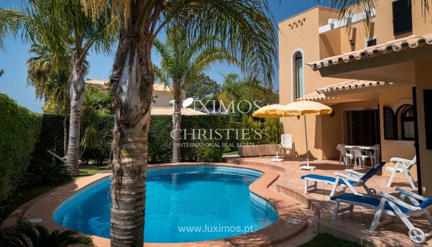 Villa for sale, with sea and golf view, Vilamoura, Algarve, Portugal_66738
