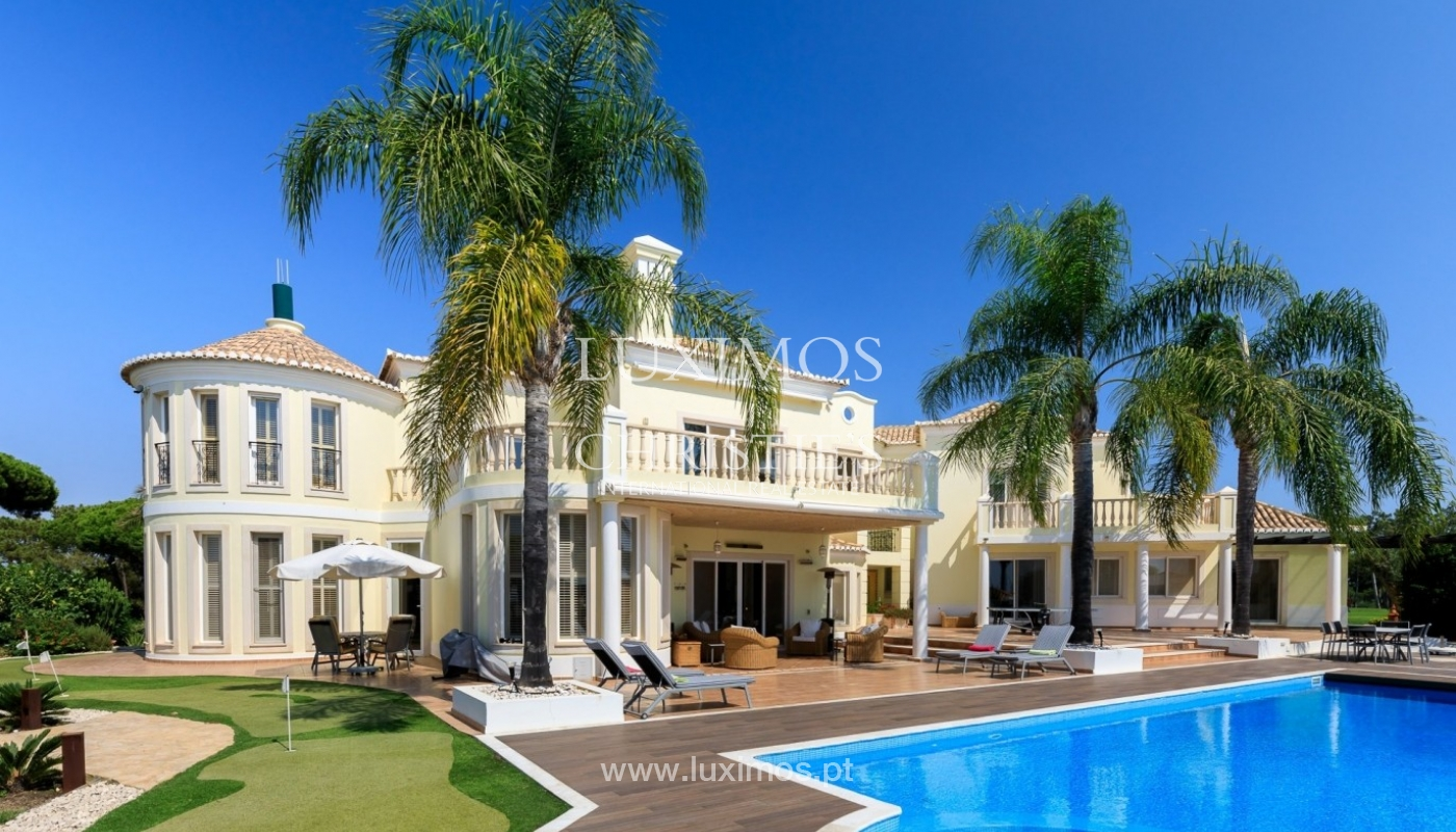 Luxury villa for sale with sea view, Vale do Lobo, Algarve, Portugal_67222