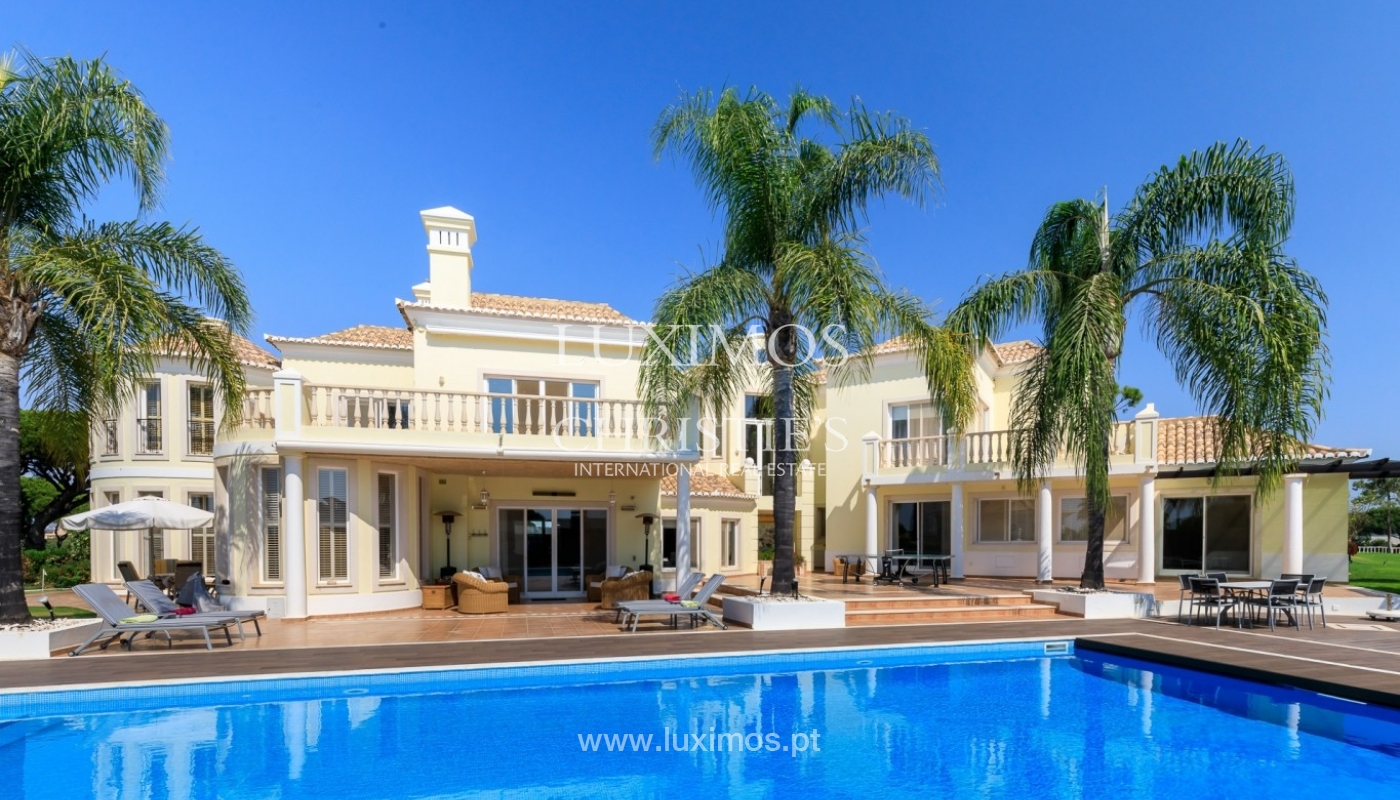 Luxury villa for sale with sea view, Vale do Lobo, Algarve, Portugal_67223