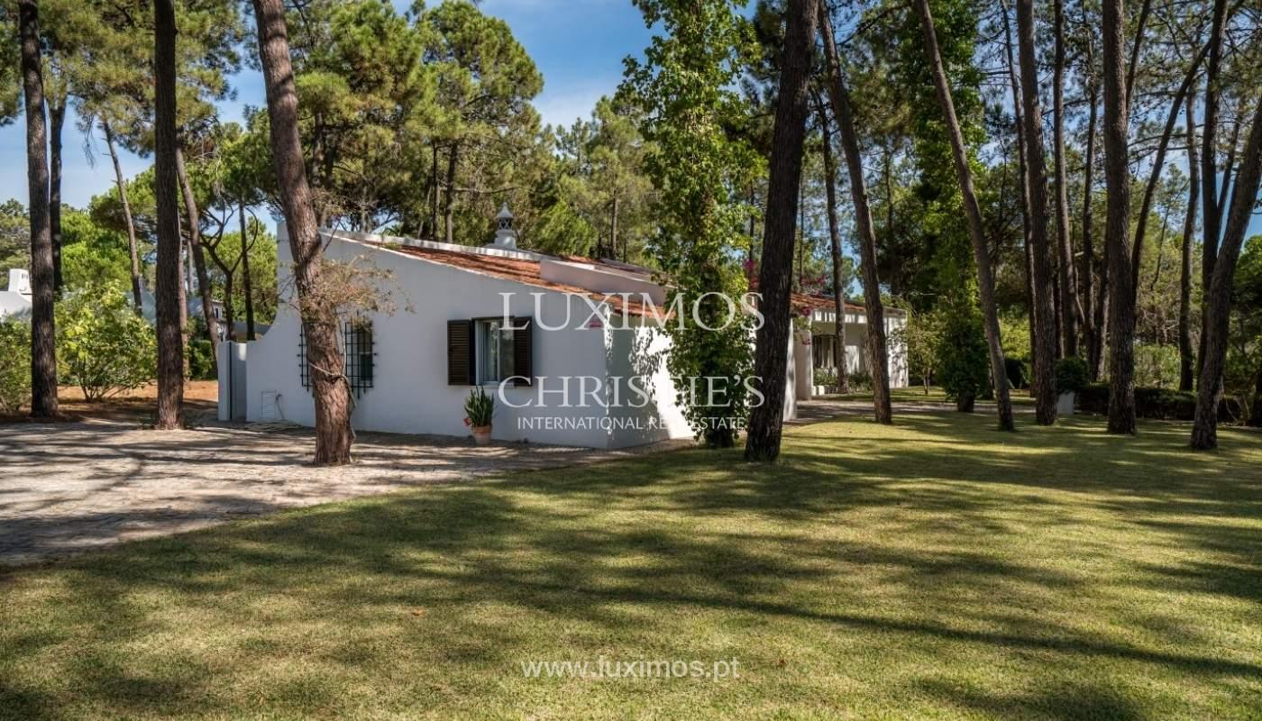 Freistehende villa zum Verkauf mit pool, in der Nähe von Strand und golf, Vilamoura, Algarve, Portugal_67309