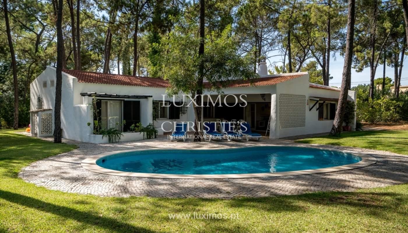 Freistehende villa zum Verkauf mit pool, in der Nähe von Strand und golf, Vilamoura, Algarve, Portugal_67317