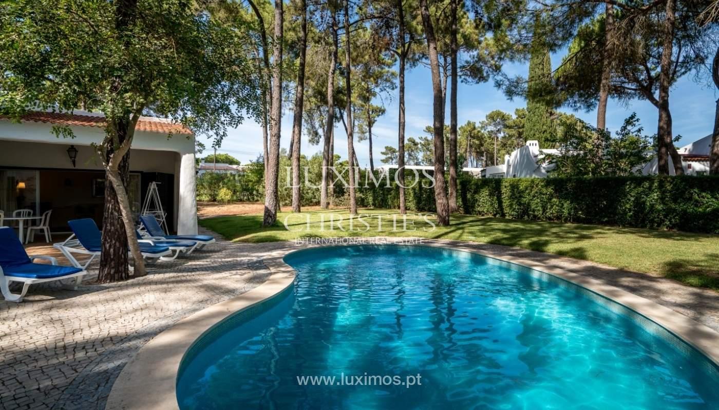 Freistehende villa zum Verkauf mit pool, in der Nähe von Strand und golf, Vilamoura, Algarve, Portugal_67318
