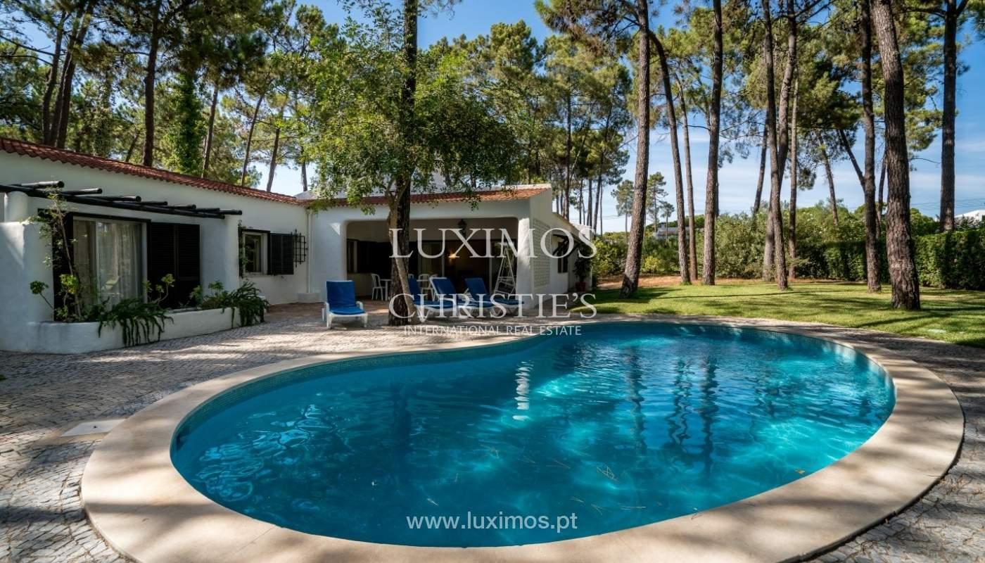 Freistehende villa zum Verkauf mit pool, in der Nähe von Strand und golf, Vilamoura, Algarve, Portugal_67320