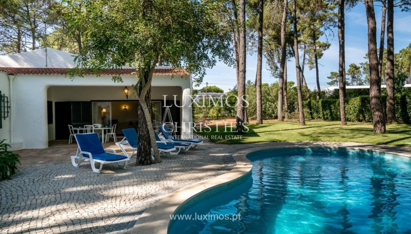 Freistehende villa zum Verkauf mit pool, in der Nähe von Strand und golf, Vilamoura, Algarve, Portugal_67327