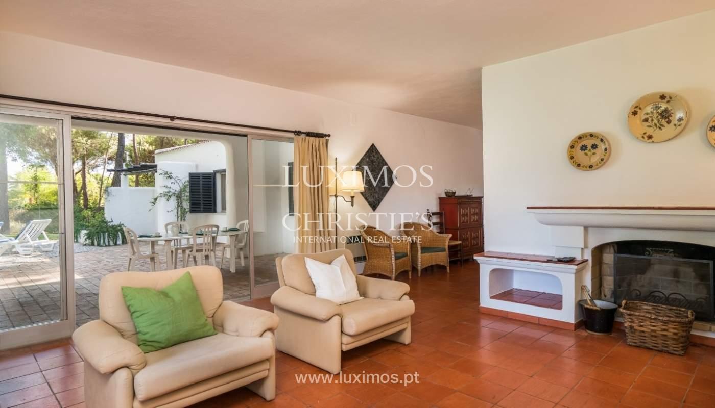 Freistehende villa zum Verkauf mit pool, in der Nähe von Strand und golf, Vilamoura, Algarve, Portugal_67331