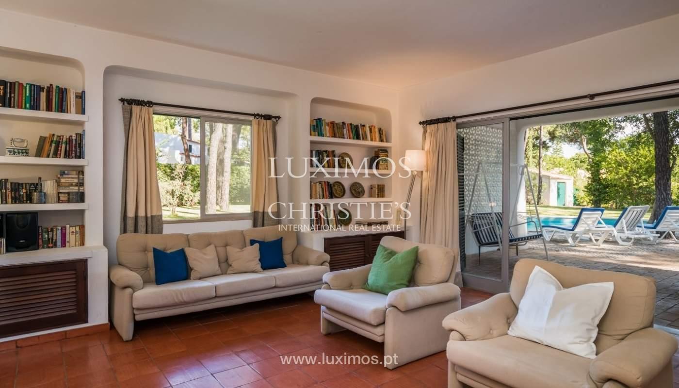 Freistehende villa zum Verkauf mit pool, in der Nähe von Strand und golf, Vilamoura, Algarve, Portugal_67332