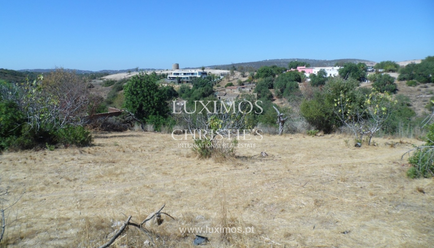 Plot area for sale, sea and mountain views, Loulé, Algarve, Portugal_67485