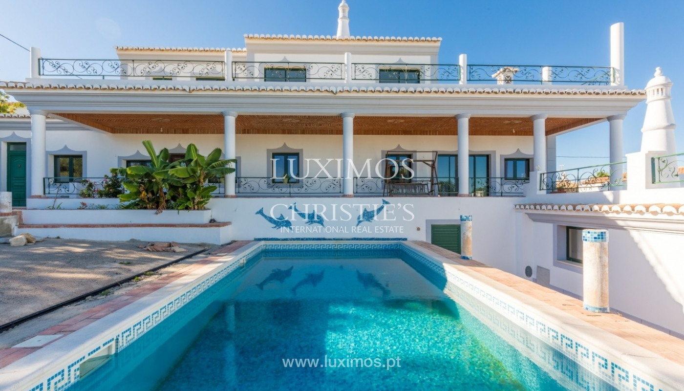 Villa for sale, pool, sea and mountain views, Loulé, Algarve, Portugal_67597