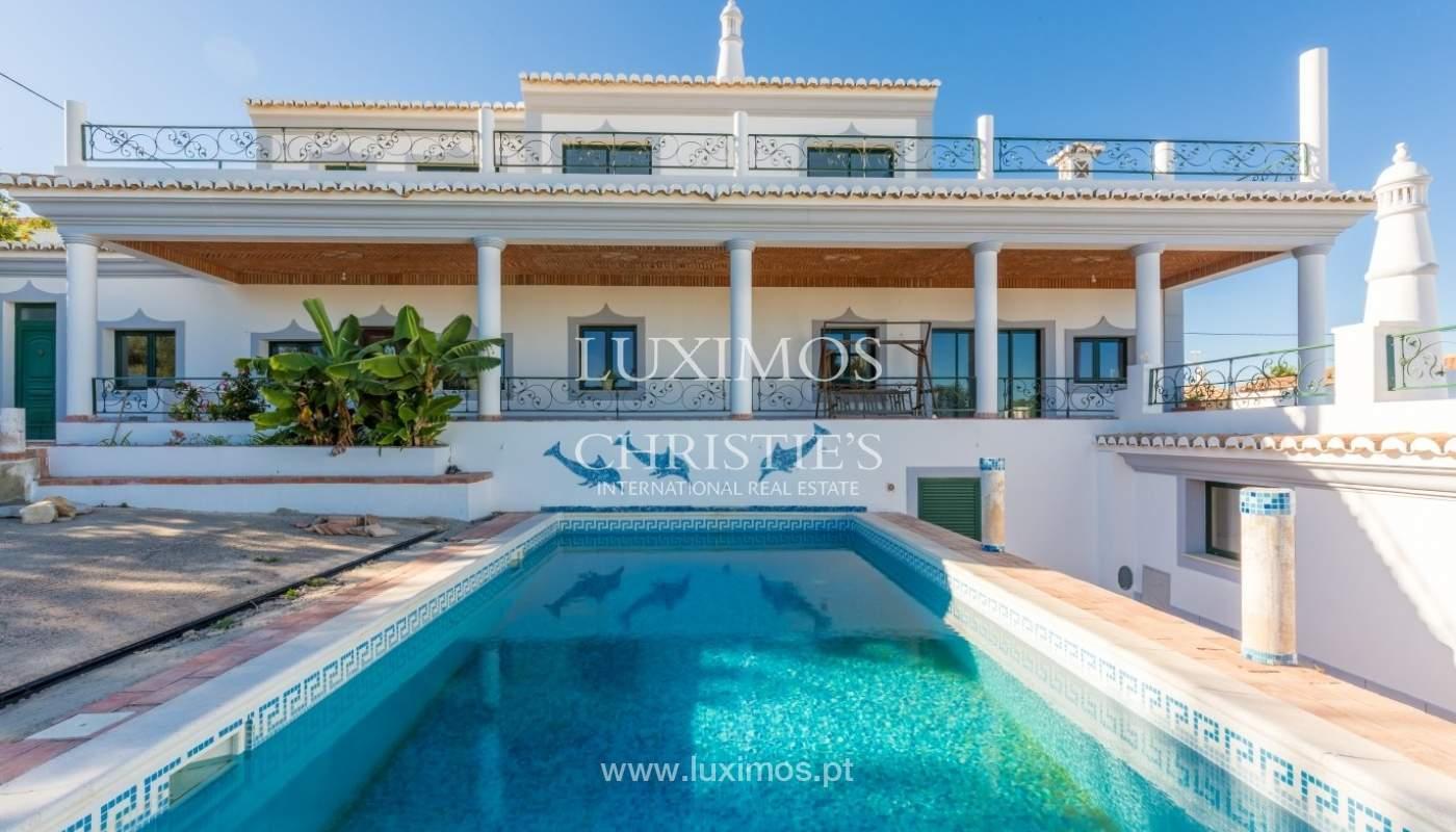 Villa for sale, pool, sea and mountain views, Loulé, Algarve, Portugal_67597