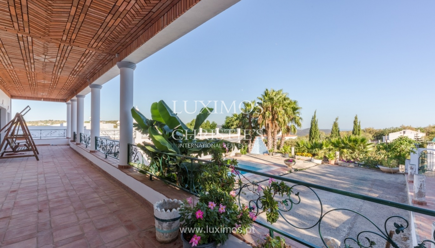 Villa for sale, pool, sea and mountain views, Loulé, Algarve, Portugal_67599