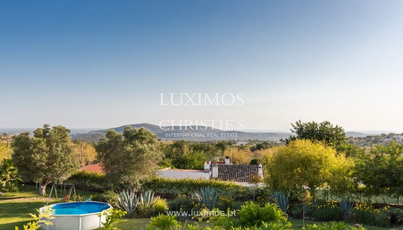 Villa à vendre avec vue sur la mer, Loule, Algarve, Portugal_67679