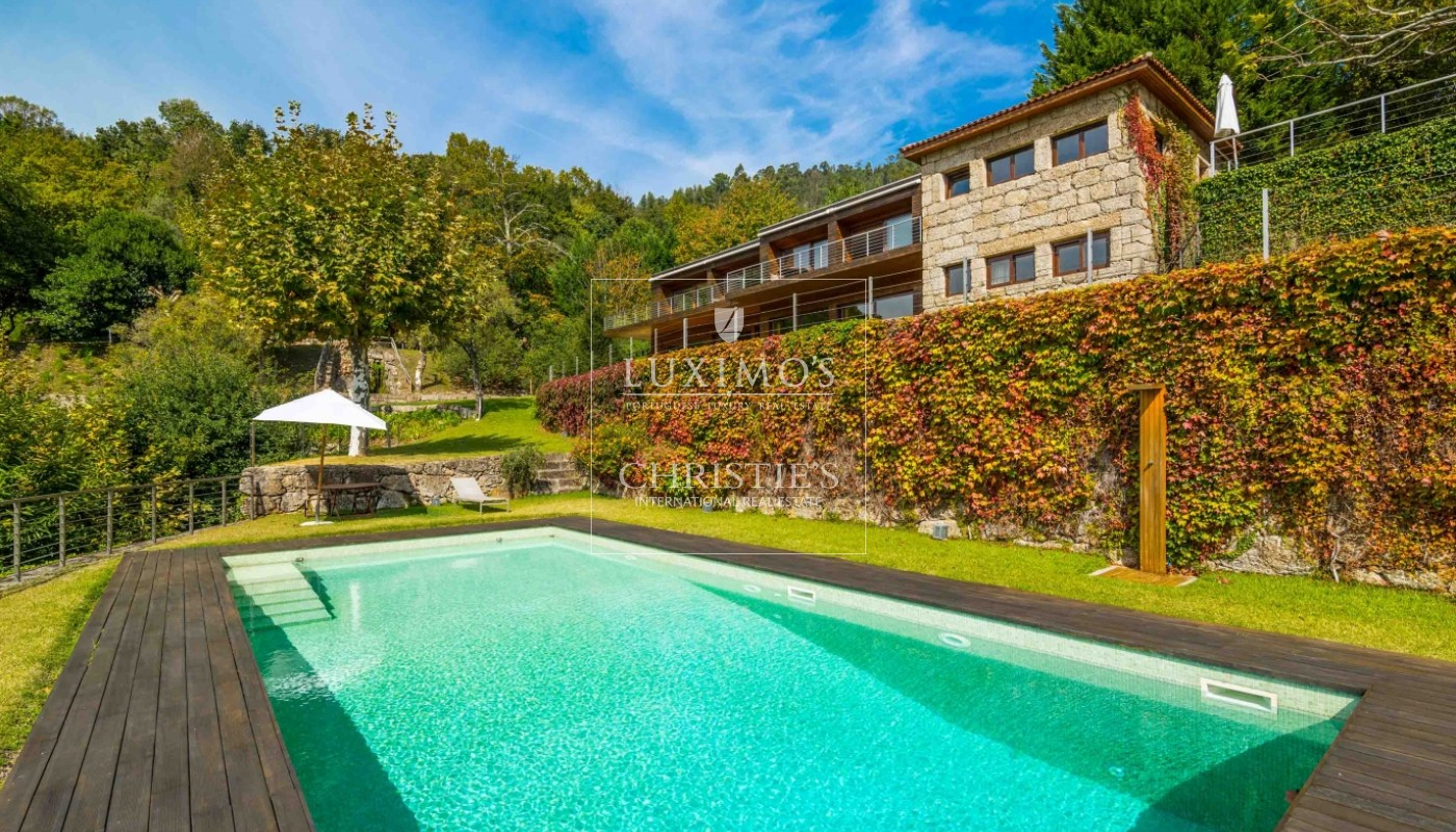 Sale of country house with river views and pool, Gerês, Portugal_68371