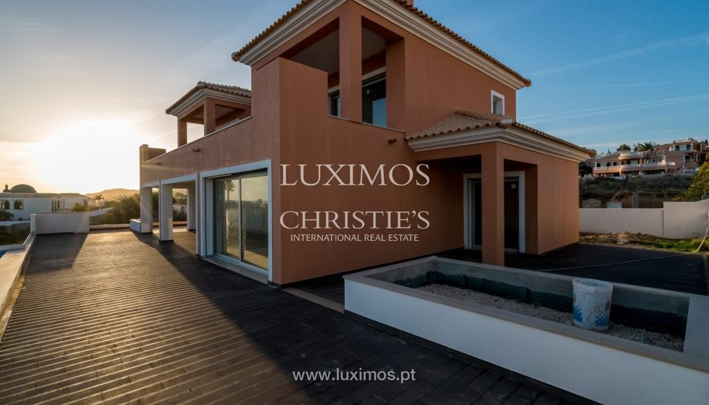 Neue villa zum Verkauf mit Meerblick, nah am Strand/golf-Kurse, Lagos, Algarve, Portugal_71110