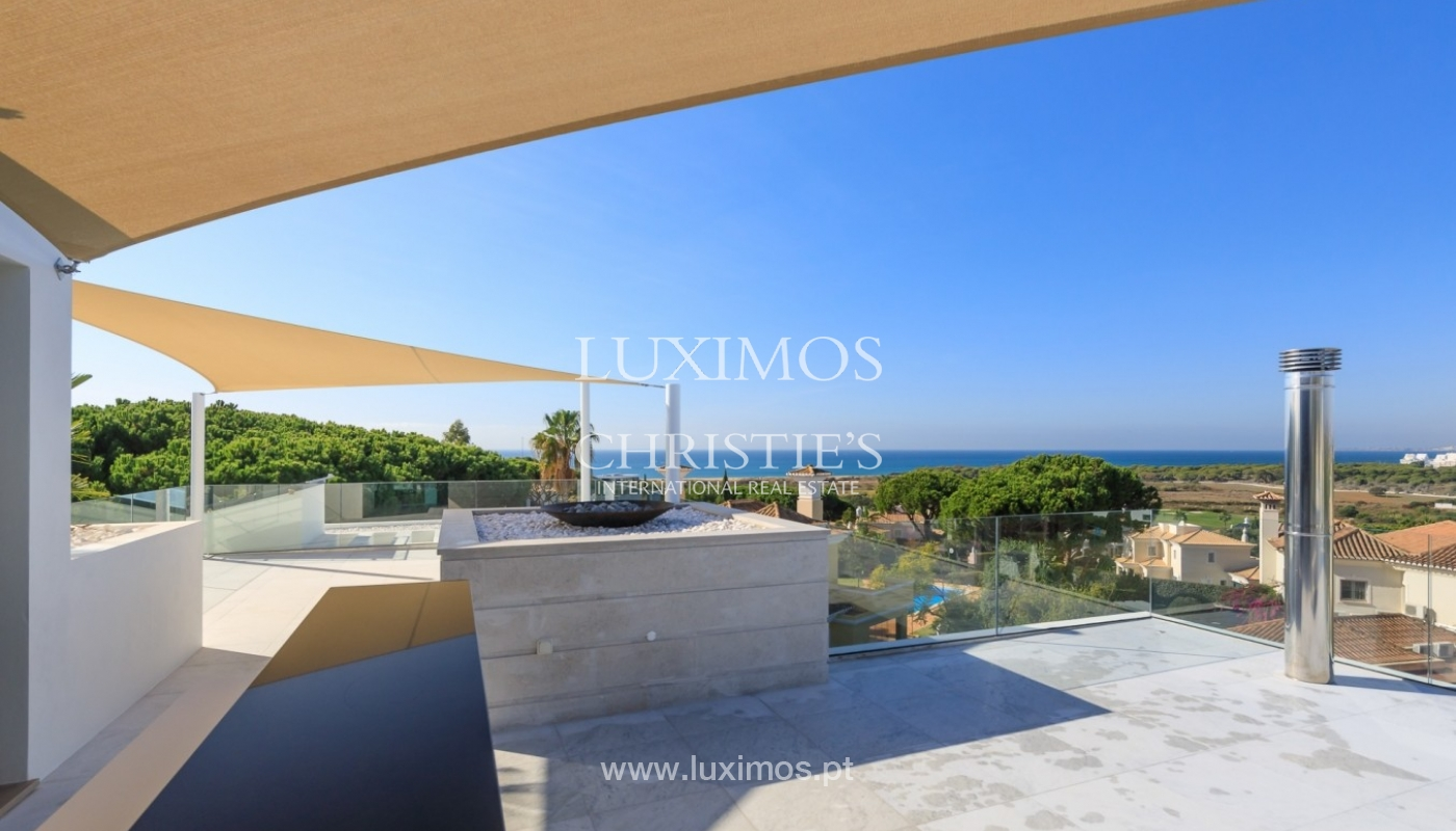 Villa for sale with pool and sea view, Vale do Lobo, Algarve, Portugal_72021