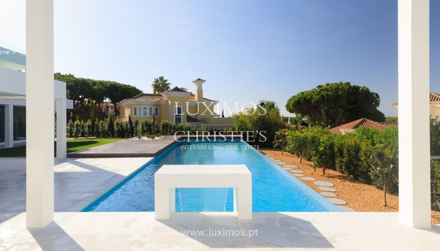 Villa for sale with pool and sea view, Vale do Lobo, Algarve, Portugal_72024