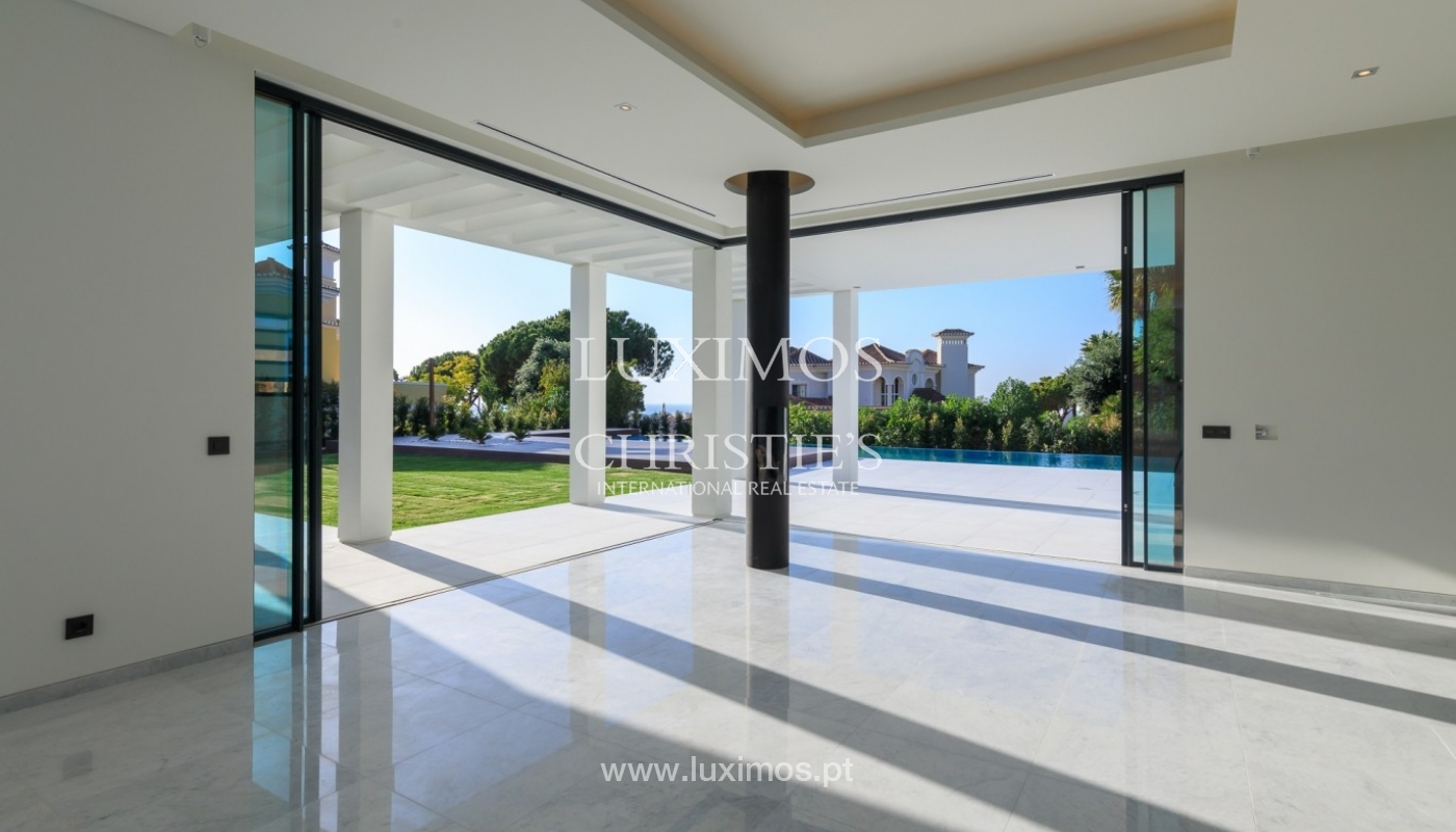 Villa for sale with pool and sea view, Vale do Lobo, Algarve, Portugal_72027