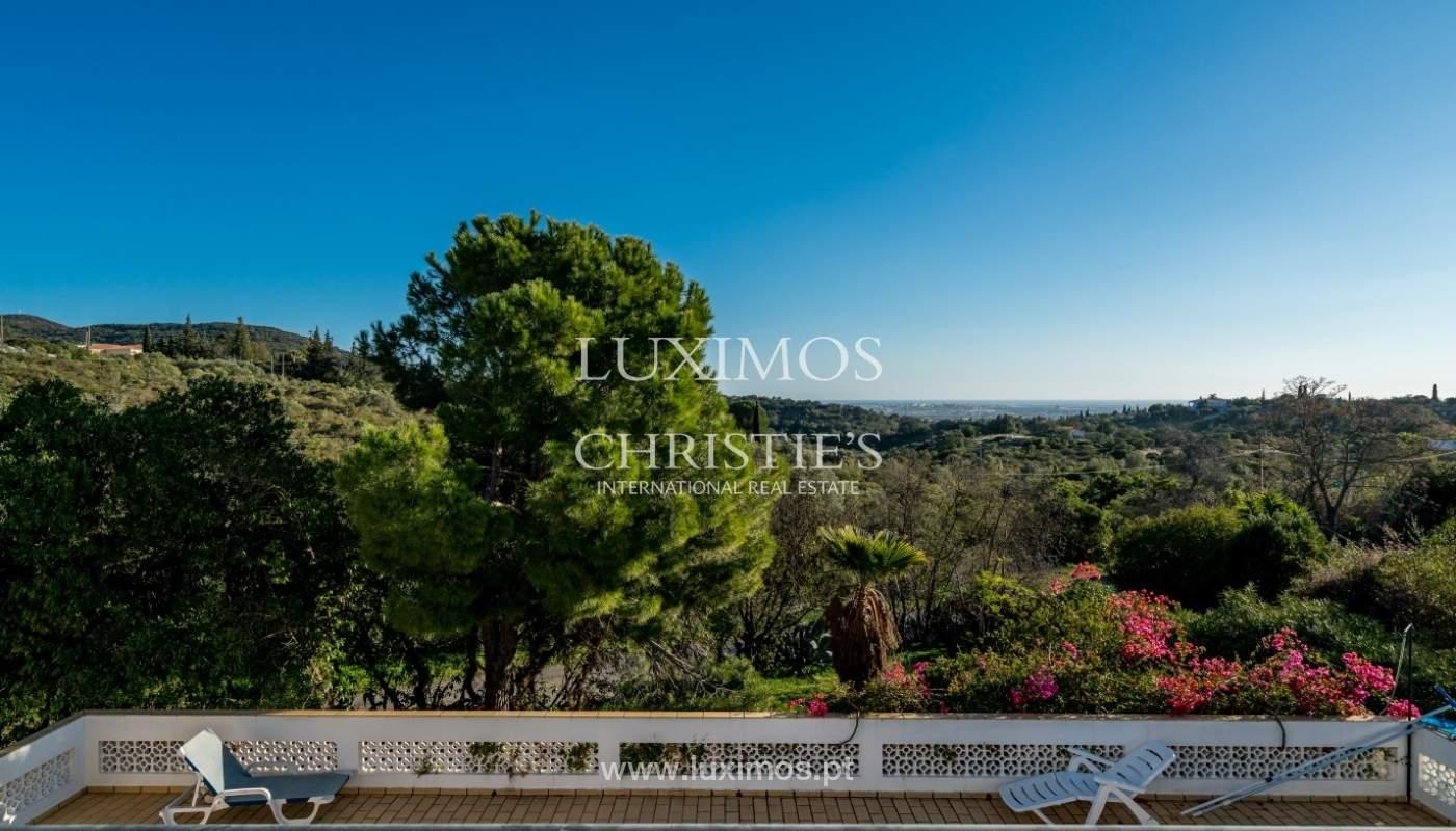 Propriedade à venda, piscina, vista mar, Santa Bárbara Nexe, Algarve_72138