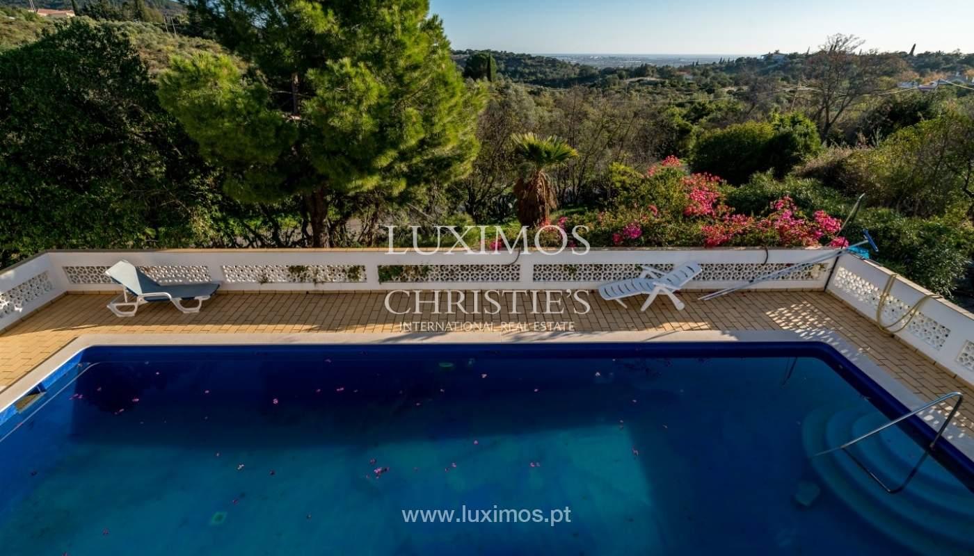 Propriedade à venda, piscina, vista mar, Santa Bárbara Nexe, Algarve_72139