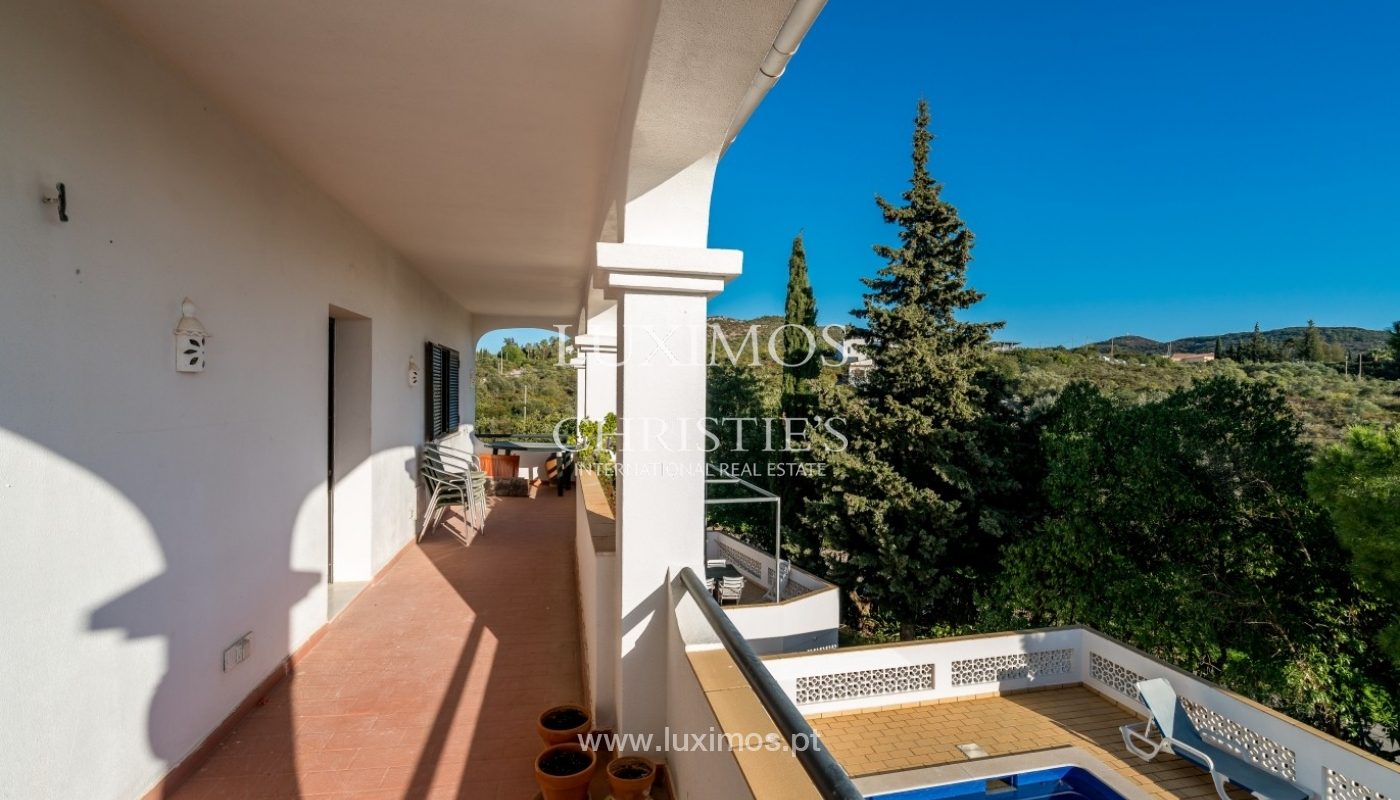 Propriedade à venda, piscina, vista mar, Santa Bárbara Nexe, Algarve_72142