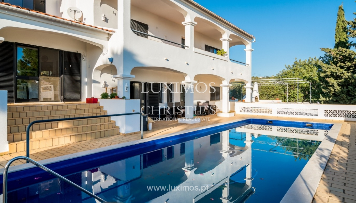 Property for sale, pool, sea view, Sta Bárbara Nexe, Algarve, Portugal_72151