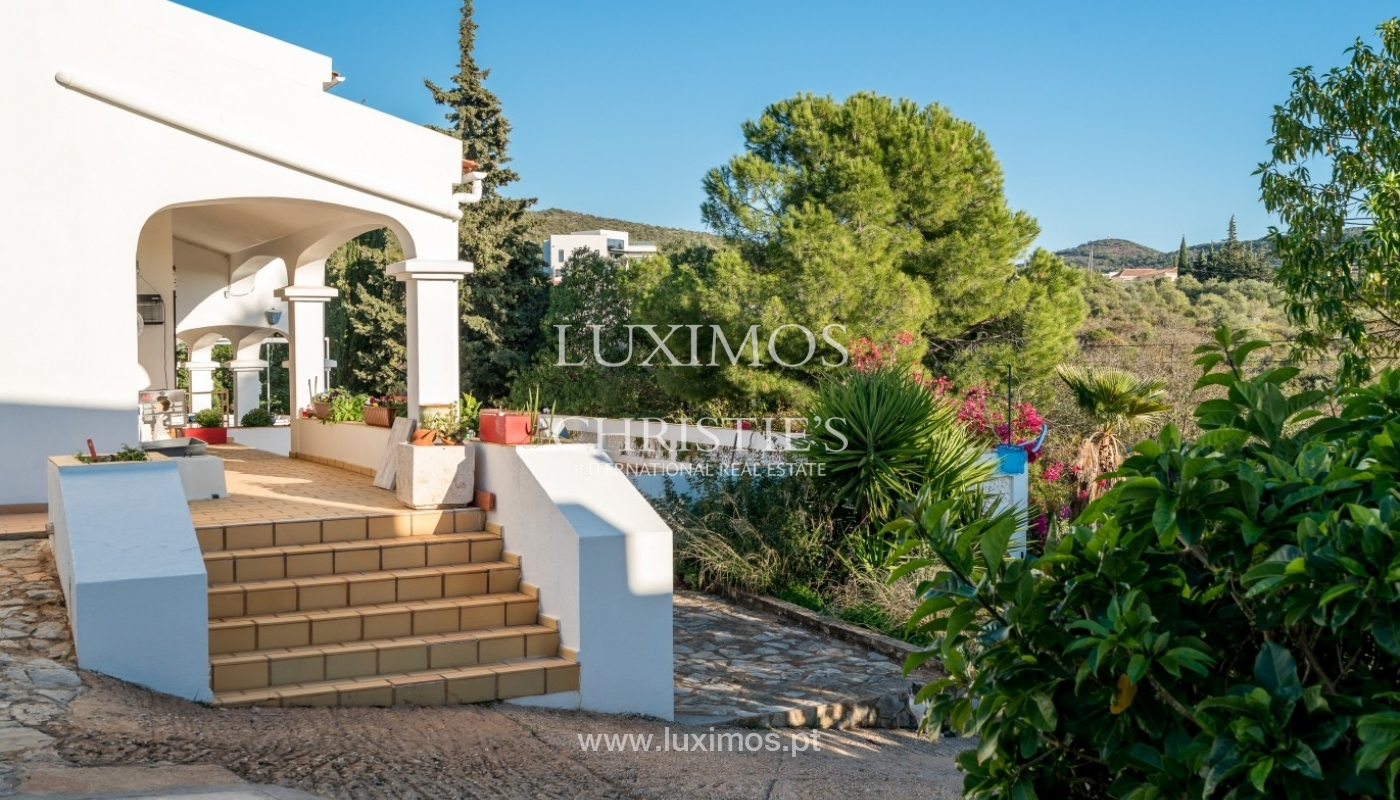 Propriedade à venda, piscina, vista mar, Santa Bárbara Nexe, Algarve_72155