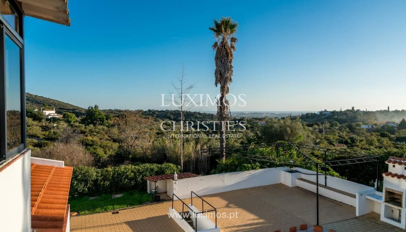 Propriedade à venda, piscina, vista mar, Santa Bárbara Nexe, Algarve_72172