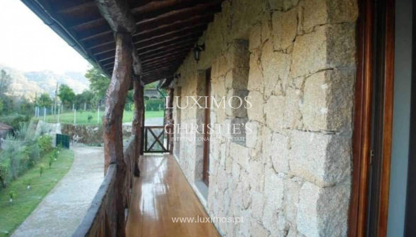New rustic villa, next to the river, in the North of Portugal_736